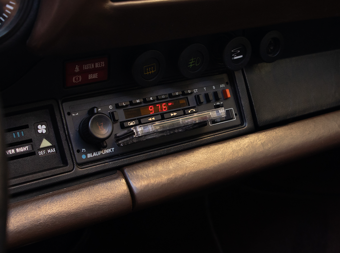 Sonority Sound Systems Porsche 911 Retro Radio
